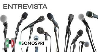 ENTREVISTA A CLAUDIA RUIZ MASSIEU EN VISITA DE TRABAJO POR DURANGO.