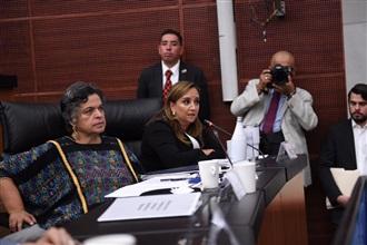 INTERVENCIÓN DE CLAUDIA RUIZ MASSIEU, DURANTE LA REUNIÓN EXTRAORDINARIA DE COMISIONES UNIDAS DE PUNTOS CONSTITUCIONALES