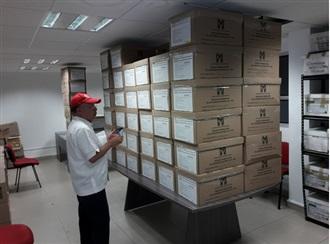 SE RECIBEN EN AGUASCALIENTES LOS 76 PAQUETES ELECTORALES PARA LA ELECCIÓN NACIONAL DEL PRI.