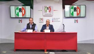 QUINTO REPORTE DE RESULTADOS PRELIMINARES DE LA ELECCIÓN INTERNA DEL PRI: JOSÉ RUBÉN ESCAJEDA JIMÉNEZ, PRESIDENTE DE CNP