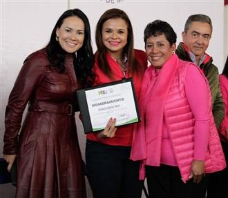 EL CORAZÓN DEL PRIISMO SOMOS LAS MUJERES Y EL ESTADO DE MEXICO, DEL PRIISMO NACIONAL: MONTSERRAT ARCOS