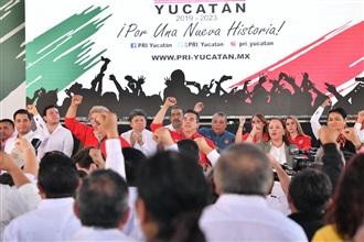 MENSAJE DEL LIC.  ALEJANDRO MORENO, EN LA CLAUSURA DE LA SESIÓN EXTRAORDINARIA DEL CONSEJO POLÍTICO ESTATAL EN YUCATÁN.