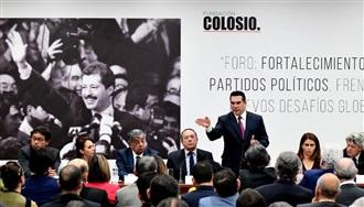 """MENSAJE DEL LIC. ALEJANDRO MORENO,  EN EL FORO """"FORTALECIMIENTO DE LOS PARTIDOS POLÍTICOS, FRENTE A LOS NUEVOS DESAFÍOS"""