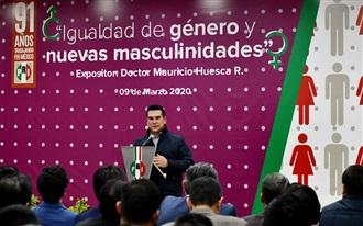 """MENSAJE DE ALEJANDRO MORENO, EN LA PRESENTACIÓN DE LA CONFERENCIA MAGISTRAL """"IGUALDAD DE GÉNERO Y NUEVAS  MASCULINIDADES"""