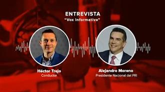 """ENTREVISTA A ALEJANDRO MORENO EN """"VOX INFORMATIVA"""" CON HÉCTOR TREJO 19/08/20"""