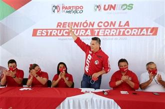REALIZA ALEJANDRO MORENO ENCUENTROS CON LA MILITANCIA PARA, JUNTOS, CONSTRUIR EL TRIUNFO DEL PRI