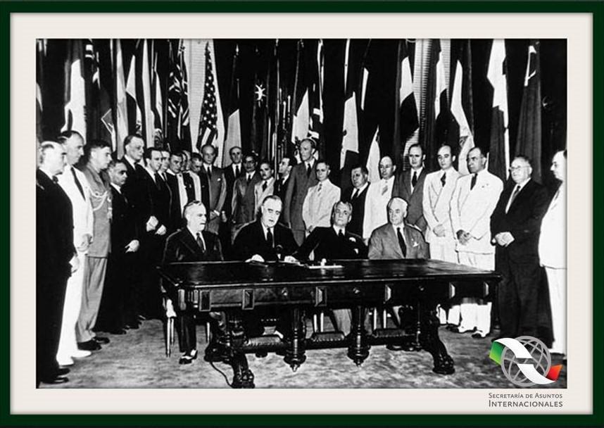 un día como hoy, pero de 1945, México ingresó a la Organización de las Naciones Unidas?