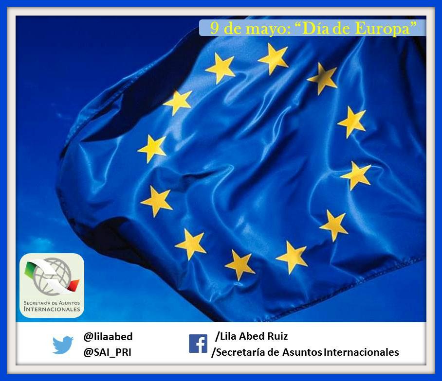 Sabías qué… cada 9 de mayo se celebra el Día de Europa