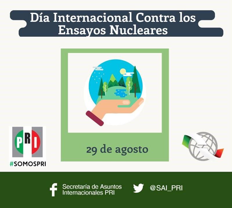 Día Internacional contra los Ensayos Nucleares