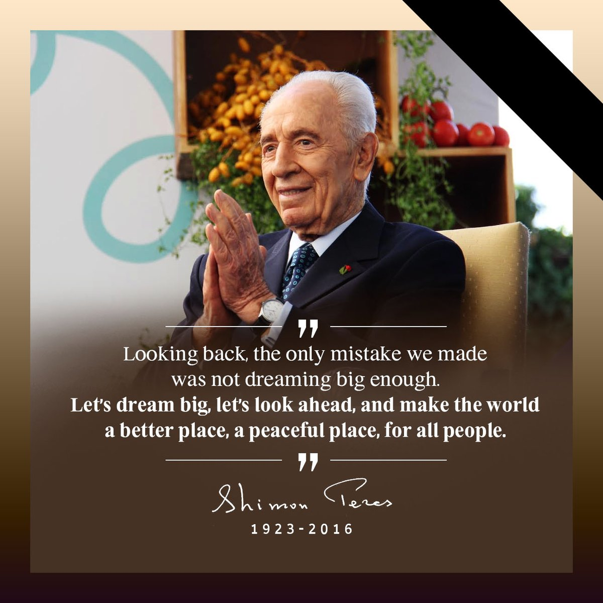 ¿Sabías qué... Shimon Peres ganó el Premio Nobel de la Paz en 1994?