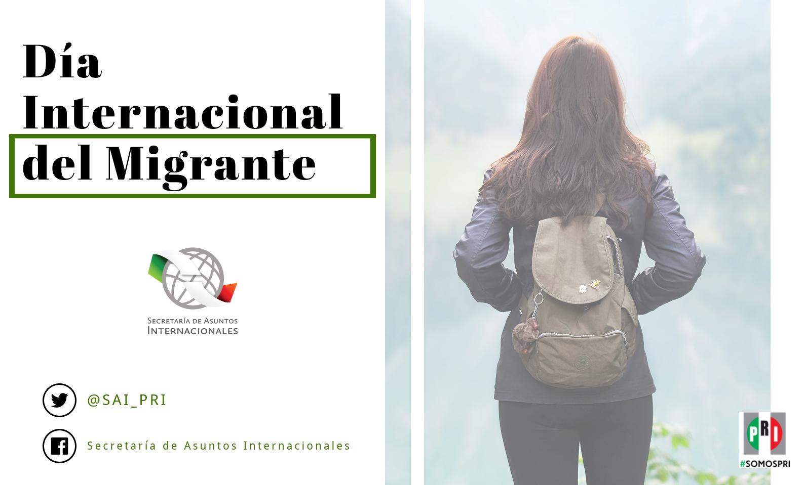 ¿Sabías qué… hoy es el Día Internacional del Migrante?