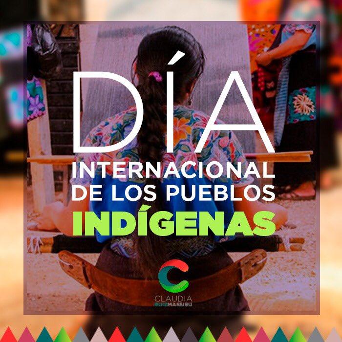 ¿Sabías qué… hoy es el Día Internacional de los Pueblos Indígenas?