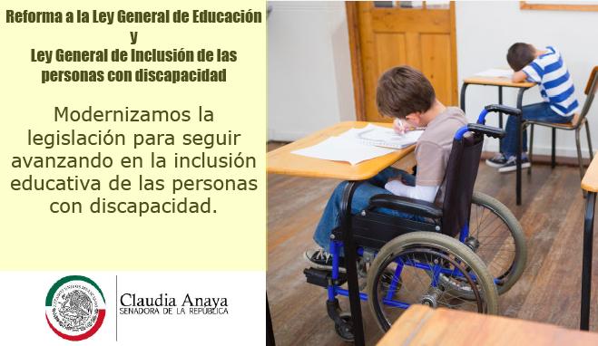 ¿Sabías que la Senadora Claudia Anaya presentó una iniciativa para armonizar nuestra legislación acorde co...