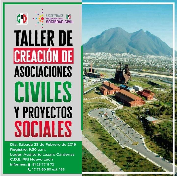 Taller de Creación De Asociaciones Civiles y Proyectos Sociales