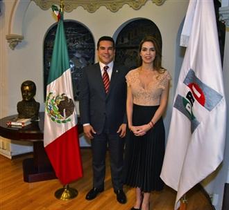 DESIGNA PRESIDENTE DEL PRI, ALEJANDRO MORENO, A LAURA HARO RAMÍREZ COMO SECRETARIA DE VINCULACIÓN CON LA S...
