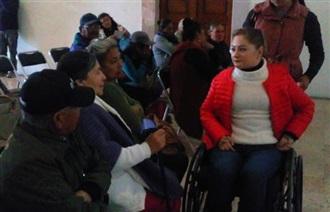 INSUFICIENTES, APOYOS PARA PERSONAS CON DISCAPACIDAD: ANAYA