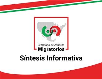 SÍNTESIS INFORMATIVA: LUNES 13 DE ENERO 2020