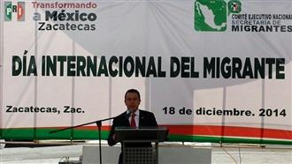 DÍA INTERNACIONAL DEL MIGRANTE: INTERVENCIÓN DEL SECRETARIO DE ASUNTOS MIGRATORIOS
