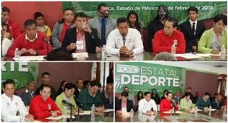 EL PRI ENRIQUECE SU PLATAFORMA POLÍTICA AL ESCUCHAR LAS PROPUESTAS DE LOS DEPORTISTAS MEXIQUENSES: CARLOS ...
