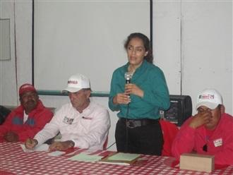 CONSTRUYAMOS ACCIONES QUE LLEGUEN A LOS SECTORES QUE MENOS TIENEN: NARCEDALIA RAMÍREZ.