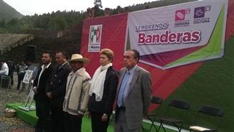 """SEMBRANDO BANDERAS"" EN TERRITORIO OTOMÍ"