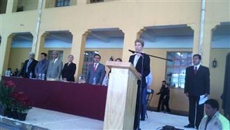 DISCURSO DE LA SECRETARIA, BEATRIZ PAGÉS EN MILPA ALTA, #SEMBRANDOBANDERAS