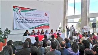 TOMA PROTESTA MARICELA VELÁZQUEZ AL CONSEJO CONSULTIVO DE GESTIÓN SOCIAL SLP