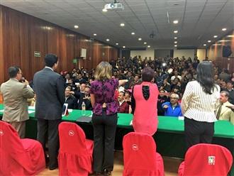 TOMA PROTESTA MARICELA VELÁZQUEZ AL CONSEJO CONSULTIVO DEL GESTIÓN SOCIAL DE LA CDMX