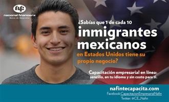 NAFINSA PROMUEVE PROGRAMAS DE CRÉDITO, CAPACITACIÓN Y ASISTENCIA TÉCNICA A LA COMUNIDAD MEXICANA