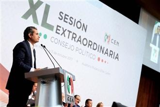 MENSAJE DEL DOCTOR ENRIQUE OCHOA EN LA XL SESIÓN EXTRAORDINARIA DEL CONSEJO POLÍTICO NACIONAL