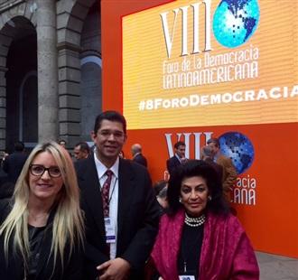 VIII FORO DE LA DEMOCRACIA LATINOAMERICANA