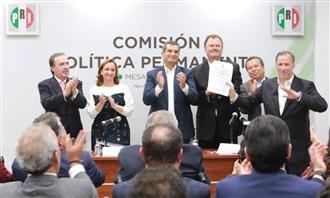 PALABRAS DEL DR. ENRIQUE OCHOA EN LA SESIÓN DE LA COMISIÓN POLÍTICA PERMANENTE DEL PRI
