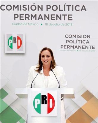 MENSAJE DE LA PRESIDENTA CLAUDIA RUIZ MASSIEU, LUEGO DE SU TOMA DE PROTESTA.