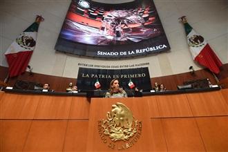 EL SENADO DEBE REPLICAR LAS ESTRATEGIAS INTERNACIONALES DE MÉXICO: RUIZ MASSIEU